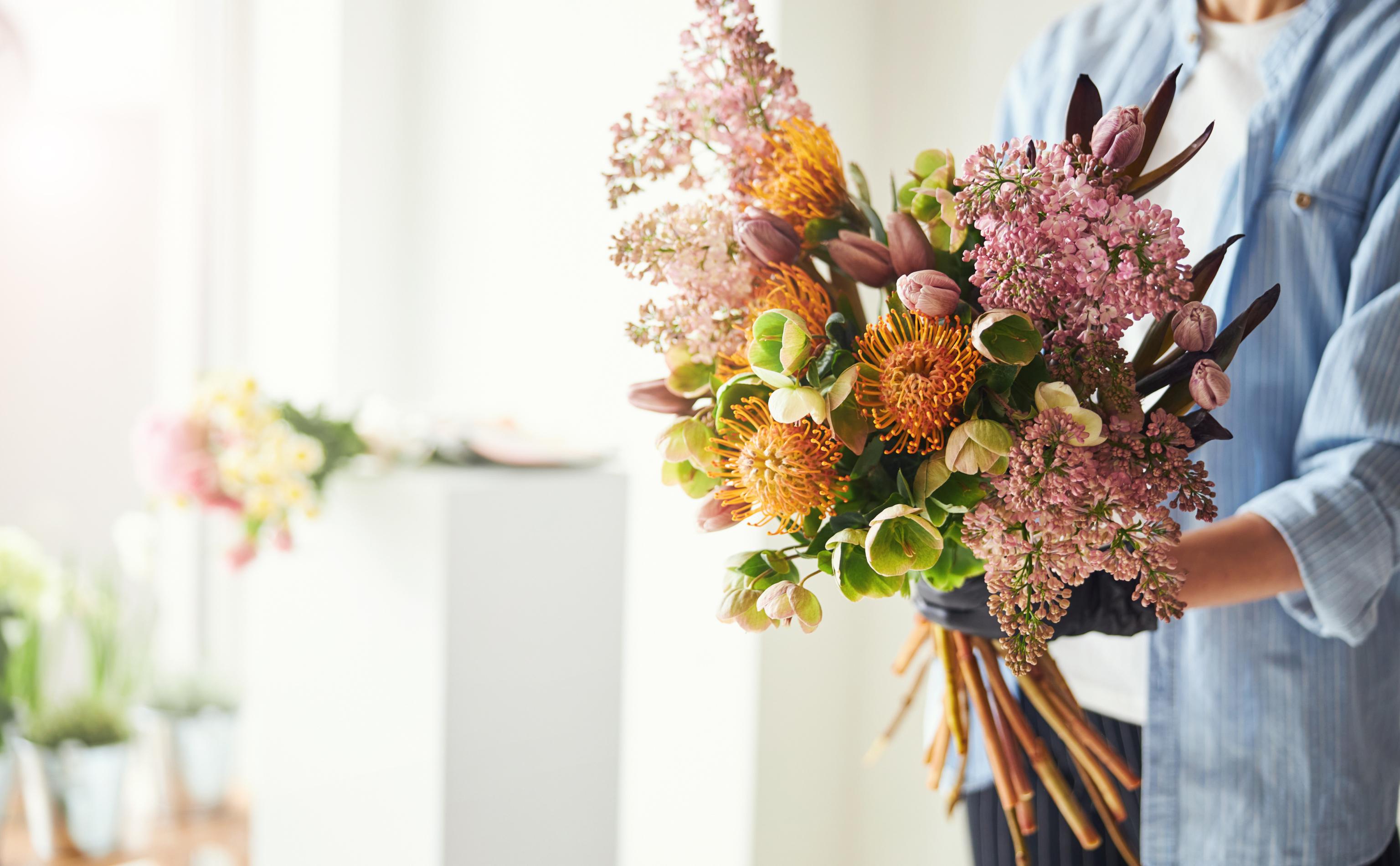 nutans bouquet inspiration