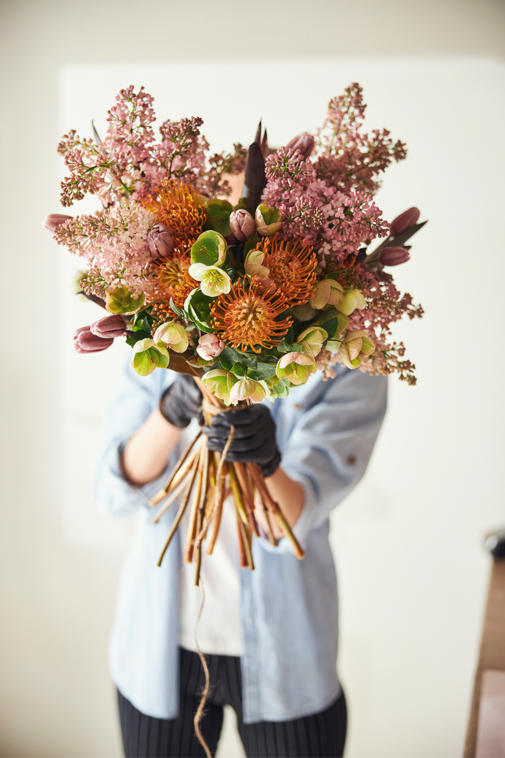 bouquet with nutans